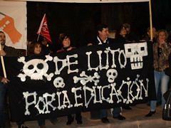 6ª Manifestación Funcionarios Murcia