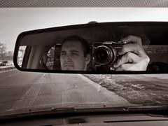015/365 - January 15, 2011 - Rearview (Shane Woodall) Tags: camera newyork reflection mirror shane january 365 2011 project365 olympusepl1 3652011 shanewoodallphotography