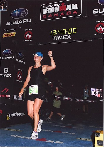 Ironman Canada 2008 Finish