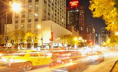 Rush Hour at the Mag Mile.... (Seth Oliver Photographic Art) Tags: chicago illinois nikon midwest skyscrapers watertower cityscapes nightshots lighttrails michiganavenue chicagoatnight pinoy cityatnight downtownchicago wbez urbanscapes 30secondexposure magnificentmile chicagoavenue magmile longexposures starbursts chicagoist d90 nightexposures sooc nighttrails moderncities manualmodeexposure autotraffic setholiver1 aperturef160 18105mmnikkorlens tripodmountedshot nocturneimages remotetriggeredshot rushhouratmichiganavenue
