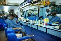 Hemerlein Haircut (Wake Up The Giant) Tags: blue haircut shop singapore asia southeastasia indian barber shave littleindia
