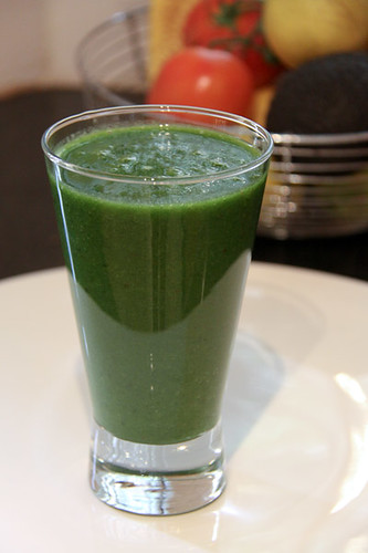 My first green smoothie