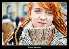 street portraits of strangers / portrety uliczne nieznajomych (Dariusz.Majgier.pl) Tags: life street city light portrait people art beautiful face look fashion pose hair person photography photo interesting eyes nikon perfect europe day dof close shot image bokeh retrato character moda picture lifestyle style poland polska polish scene stranger best clothes human portraiture warsaw session moment nikkor portret warszawa ulica