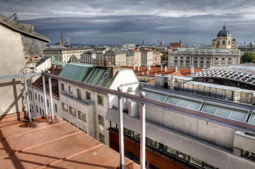 Roofs of Vienna. Tejados de Viena