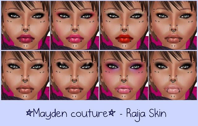 Skin: *Mayden couture* - Raija