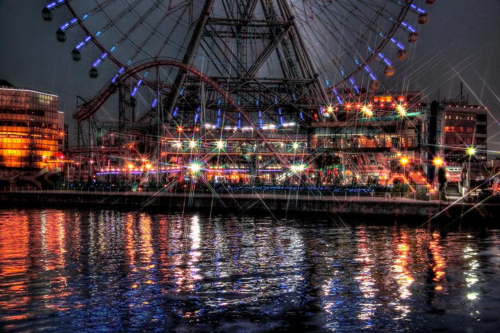 Yokohama, Minatomirai Ferris wheel