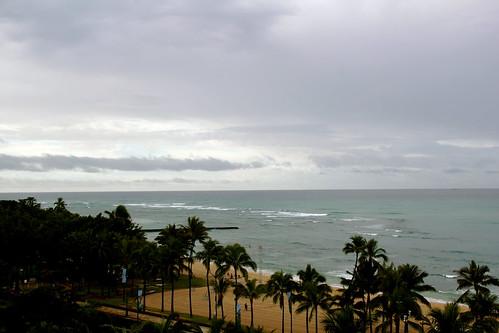 Rain in Waikiki