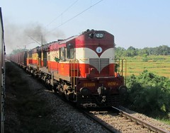 Twin VSKP Deemers with Hopper rake (Anindya Roy Photography) Tags: indianrailways irfca 16185 wdm3a vskp hopperrake