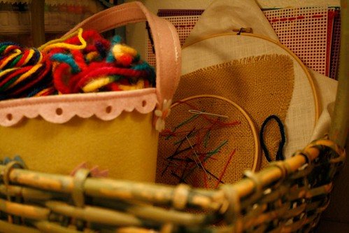 Embroidery Basket