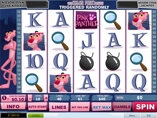 Pink Panther slot game online review