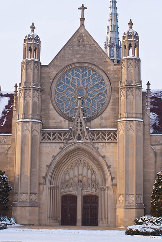 Second Presbyterean Church, Meridian Street, Indianapolis