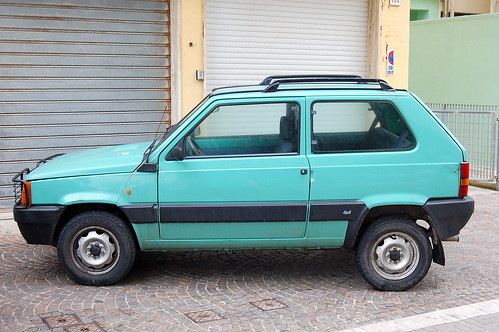 The Fiat Panda is a city car