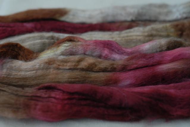 Merino/Yak/Bombyx Silk - Unravelled