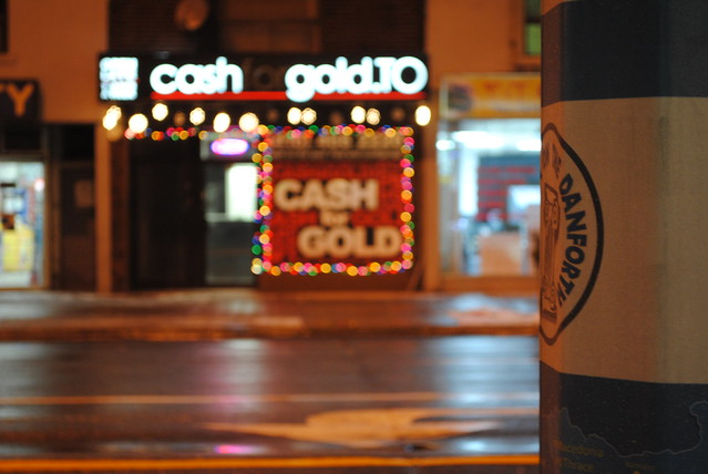 CashforgoldTO  Danforth location The night before Christmas by cash-for-gold-toronto