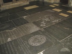 Bath Abbey Floor Monuments