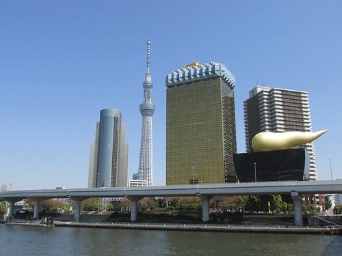 Quartier de Sumida et Skytree, Tokyo, Japon