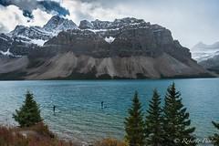 Bow Lake (robertopastor) Tags: alberta amrica bowglaciarfalls canada canadianrockiesmountain canad fuji montaasrocosas robertopastor viaje xt2 xf1655mm bow lake