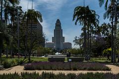 Los Angeles   |   City Hall (JB_1984) Tags: losangelescityhall cityhall park garden tower skyscraper civiccenter downtownlosangeles downtown cityofangels losangeles la losangelescounty socal southerncalifornia california ca unitedstates usa