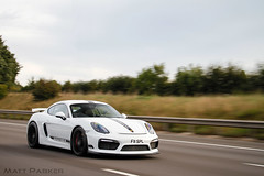 Rolling (MJParker1804) Tags: porsche cayman gt4 981 38 flat 6 white stripes rolling motion tracking driving speed