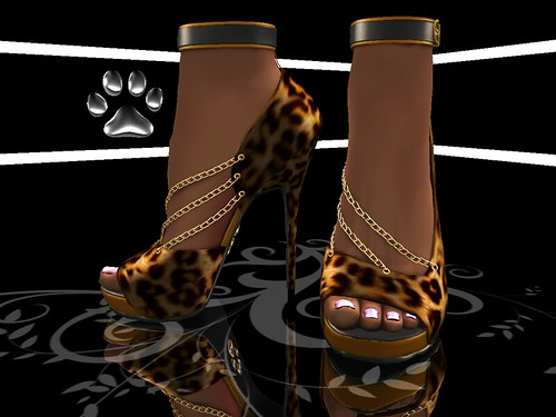 Purrfect 10 VIP Group Gift:  Leopard Serenity
