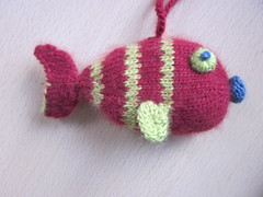 Striped Greened Eyed Fish 3