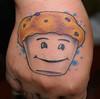 Blueberry muffin tattoo Tattoo by Tim
