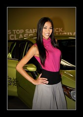2010 LA Auto Show:  Lauren (Blackriver Images) Tags: sony alpha 700 a700