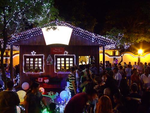 Festa de natal de Foz do Iguaçu