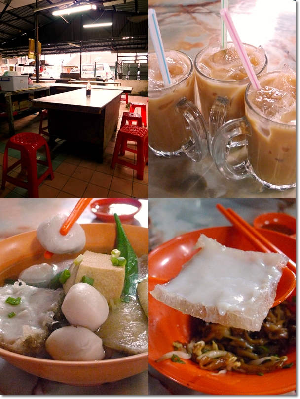 Collage Pasir Pinji Yee Jie Fish Ball Noodles