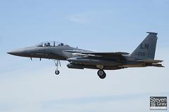96-0205 - 1343 E215 - USAF - Boeing F-15E Strike Eagle - Lakenheath - 100719 - Steven Gray - IMG_8708