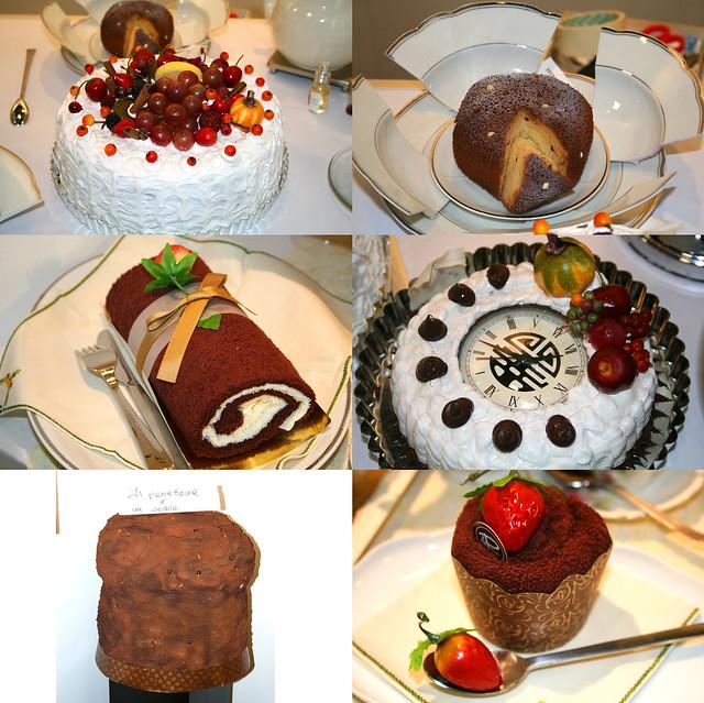 Foto creazioni originali a forma di dolci
