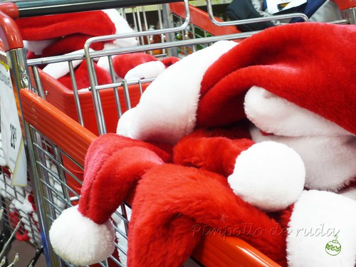 Santa's shopping cart