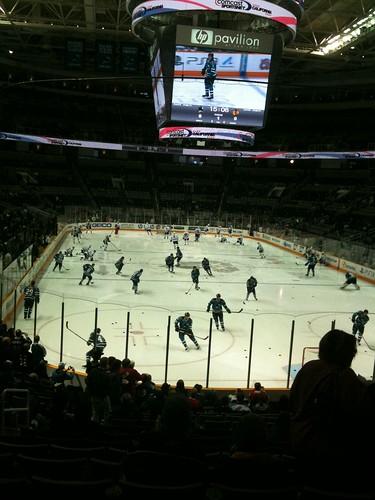 Blackhawks at Sharks