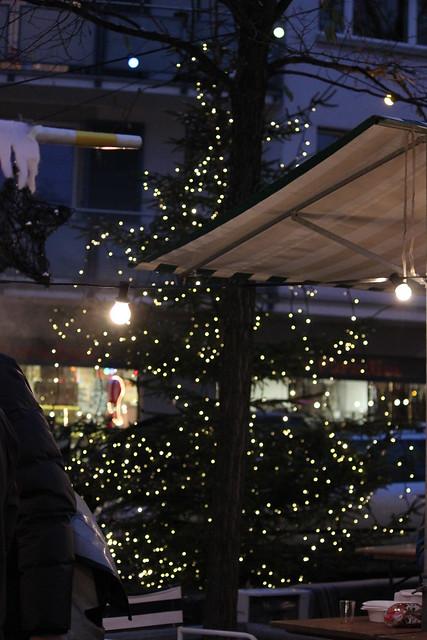 Tannenbaum am Wiehnachtsmärt Wipkingen 2010