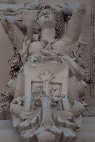 Atlantes y Caritides, Palacio Pizzurno