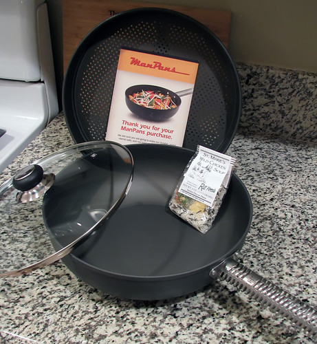 Man Pans Stir Fry Wok & Steamer Set