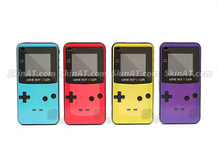 Game boy iPhone 4 sticker decal skin vinyl