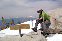 Peak of Mt. San Jacinto