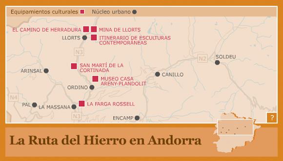 La ruta del Hierro en Andorra