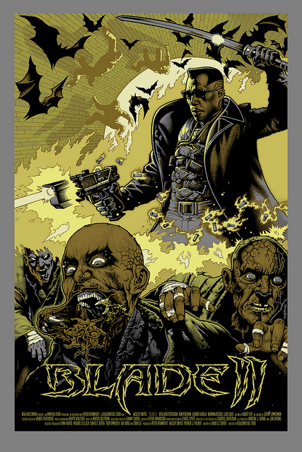 Blade II Lithos by Mike Sutfin