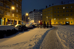 Pure Winter in Berlin (Dietrich Bojko Photographie) Tags: city winter berlin night evening abend cityscape nacht dietrichbojko dietrichbojkophotographie