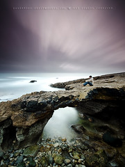 "K R O N U S (Paulo ""Santa Cruz"" Dias) Tags: longexposure sunset sea santacruz selfportrait seascape rock filter nd guincho hitech slowspeed d7000 paulodias bigstopper"
