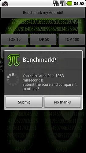 BenchmarkPi CyanogenMod-6.1.0-RC5-Mlilestone OC-1200Mhz