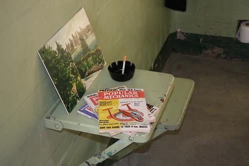 Alcatraz Prison Cell Props