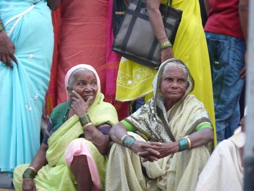 Watchful Old Ladies, Mumbai India