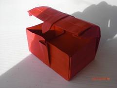Cofre del tesoro (mrmicawer) Tags: origami treasure chest papiroflexia tesoro cofre