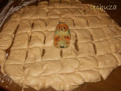 Monkey bread-cortar porciones