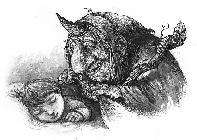 Ivica Stevanovic - Baba Roga Sketch 2