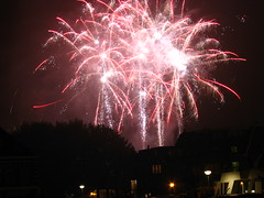 Fireworks in Leiden