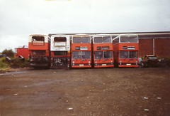 Your Bus Ex SYPTE Fleetlines Scrap 1992 (NOA 462X) Tags: bus buses lancashire east your leyland fleetline syt sypte 50y